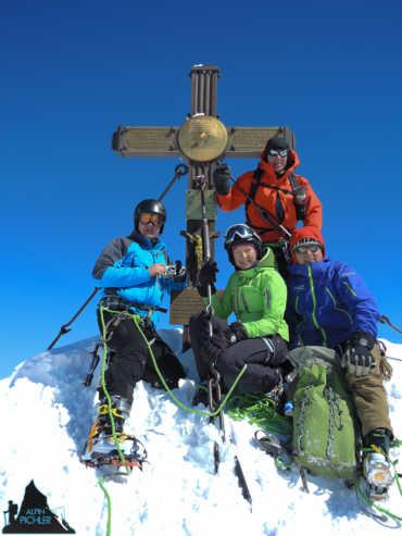 Skitour Großglockner Normalweg