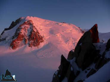 Skitour auf den Mont Blanc und Gran Paradiso
