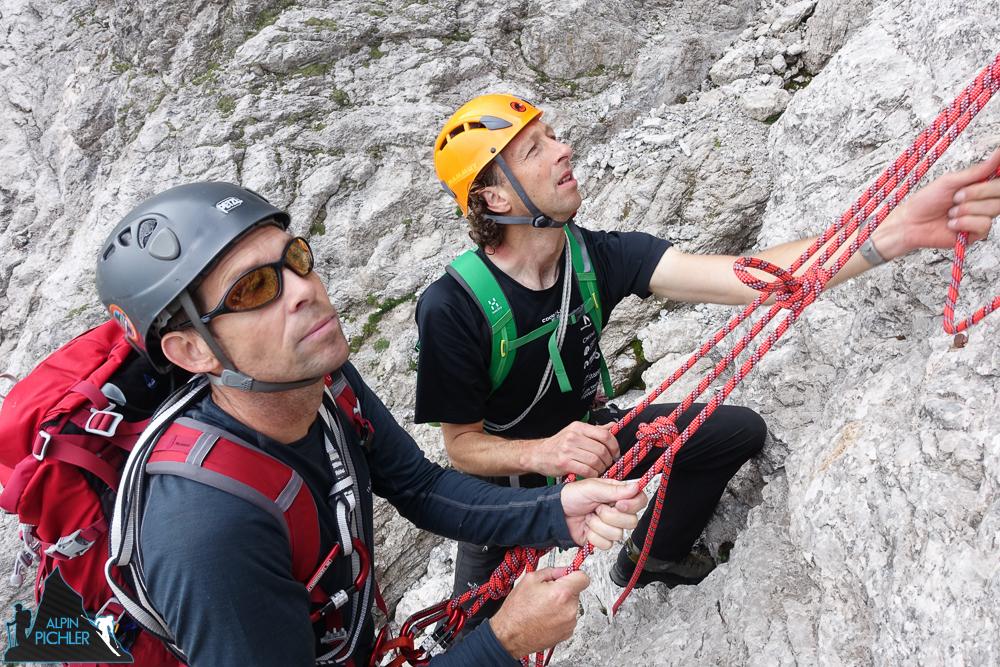 Alpin Kletterkurs