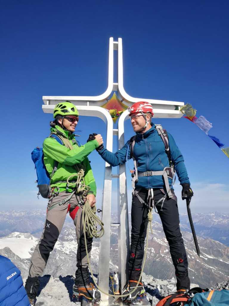 Ortler Gipfelkreuz