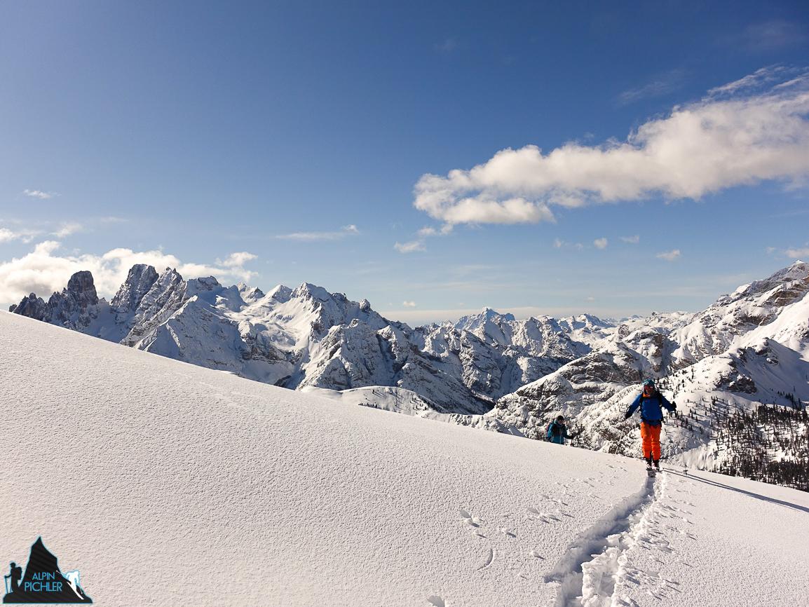 Skitour Dolomiten